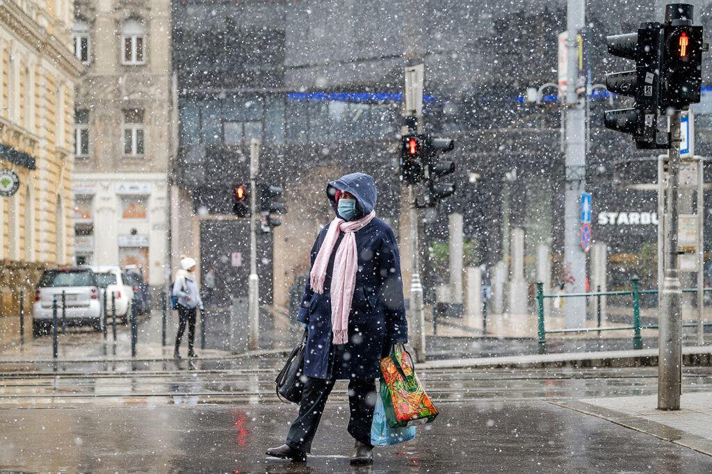 Budapest télen, járvány