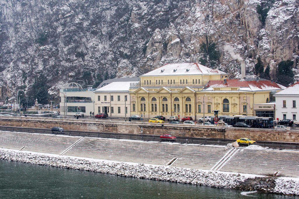 Budapest látkép, épület