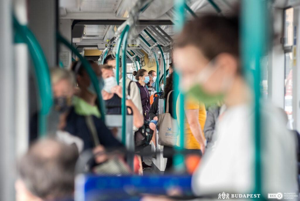 Budapesti tömegközlekéds a járvány idején